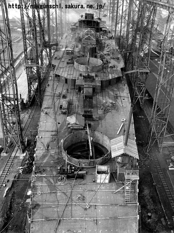 雾岛号战舰建造期间的高清扫描图(54p).